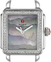 Michele Women's 'Deco Head' Swiss Quartz Stainless Steel Casual Watch(Model: MW06T01A1105)