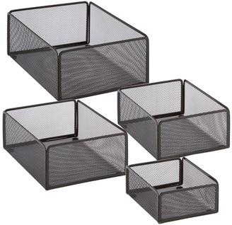 Honey-Can-Do 4-pack eXcessory Basket Set