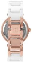 AK Anne Klein Anne Klein Round Ceramic Bracelet Watch