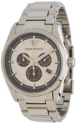 Emporio Armani Men's AR6007 'Sportivo' Chronograph Stainless Steel Watch
