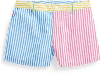 Ralph Lauren Striped Cotton Poplin Short