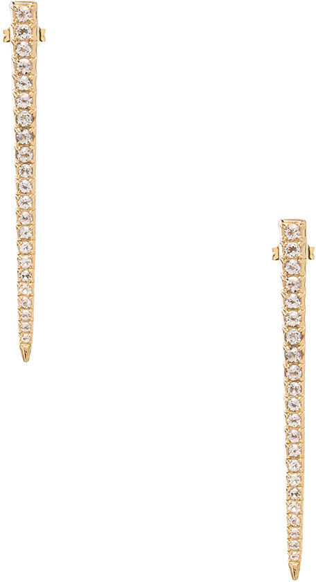 Elizabeth and James Celestial Earring with White Topaz