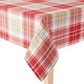 St. Nicholas Square® Casual Woven Plaid Tablecloth