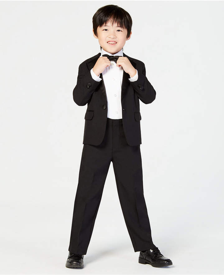 Nautica (ノーティカ) - Nautica 4-Piece Tuxedo Suit, Shirt & Bowtie, Little Boys