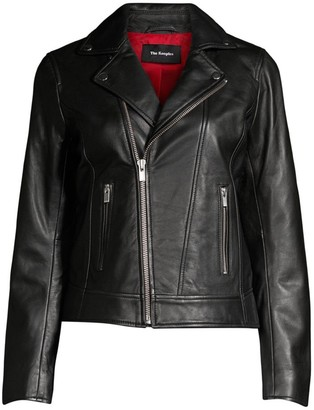 The Kooples Moto Leather Jacket