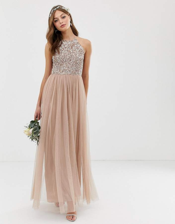 c979aec8f2 Blush Bridesmaid Dresses - ShopStyle