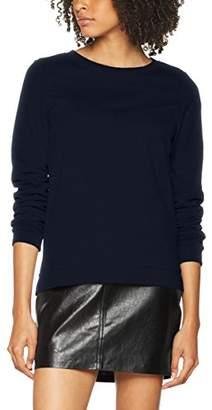 Vero Moda Women's Vmsweda Ls Sweat Sweatshirt, Blue Navy Blazer, (Size: Small)