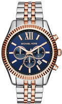 Michael Kors Lexington Stainless Steel Chronograph Watch