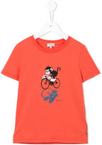 Paul Smith cycling monkey T-shirt - kids - Cotton - 4 yrs