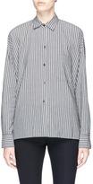 Vince Drop shoulder stripe shirt