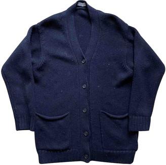 Margaret Howell Navy Wool Knitwear