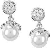 Anne Klein Faux-Pearl Drop Earrings