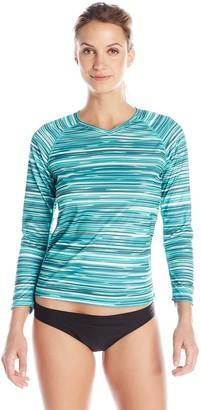 Kanu Surf Women's Odyssey Long Sleeve UPF 50+ Swim Shirt