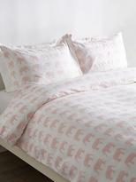 Melange Home Elephant Cotton Duvet Set