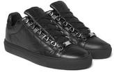 Balenciaga - Arena Creased-leather Sneakers