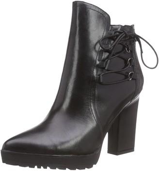 CAFe'NOIR Women's Half Short Shaft Boots