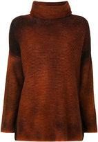 Avant Toi tubular neck sweater