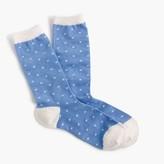 J.Crew Trouser socks in star print