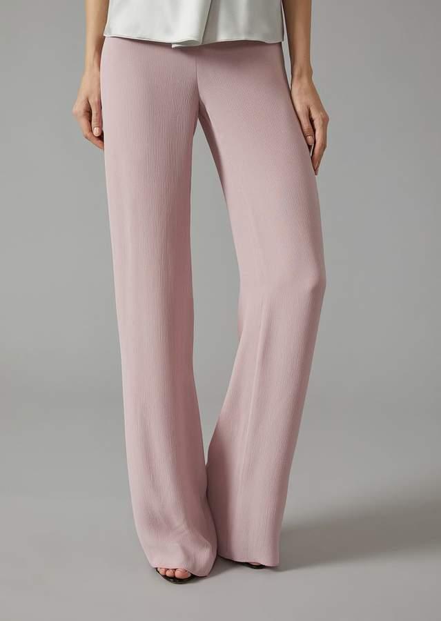 Giorgio Armani Pleated Crepe Trousers