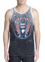 Affliction Turbo Reversible Graphic Tank