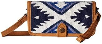STS Ranchwear Durango Serape Crossbody Wallet (Durango Serape) Handbags