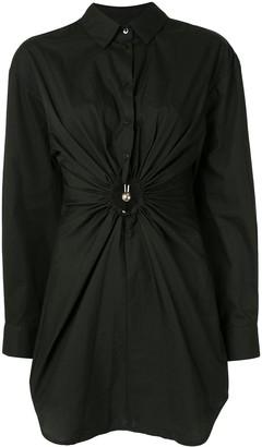 CHRISTOPHER ESBER Pierced shirt dress