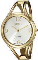 XOXO Women's Dial Tone Bangle Watch XO1096