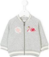 Stella McCartney applique detail bomber jacket