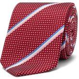 Eton Spot Stripe Tie