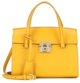 Salvatore Ferragamo Mara Leather Shoulder Bag