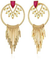 Danielle Nicole Alma Hoop Earrings