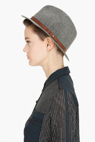 Rag and Bone RAG & BONE grey Wide Brim Fedora