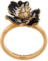 Sonia Rykiel enamelled poppy ring
