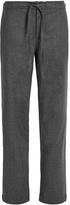 MORPHO + LUNA Poppy flannel-wool pyjama trousers