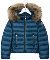 Moncler 'Solaire' puffer jacket - kids - Feather Down/Polyamide/Raccoon Dog - 5 yrs