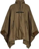 Prada Self-stowing hooded cape