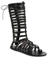Ancient Greek Sandals Nikiforos Multi-Strap Leather Gladiator Sandals