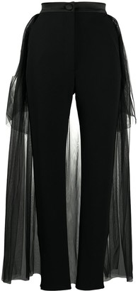 Loulou Tulle Skirt Overlay Trousers