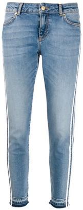 Escada Sport Racer Stripe Jeans