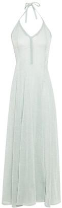 Missoni Metallic Knitted Maxi Halterneck Dress