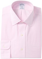 Brooks Brothers Checkered Long Sleeve Regent Fit Shirt