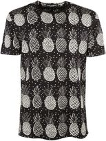 Dolce & Gabbana Pineapple Pattern T-shirt