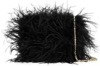 Loeffler Randall Feather Crossbody Bag