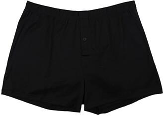 Hanro Cotton Sporty Knit Boxer (White) Men's Underwear