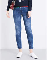 Stella McCartney Star-pattern slim-fit skinny jeans