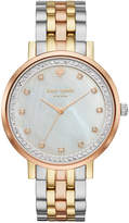 Kate Spade Women's Monterey Three-Tone Stainless Steel Bracelet Watch 38mm KSW1143