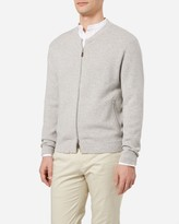 N.Peal Knitted Cashmere Bomber Jacket