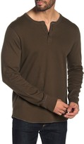 Reigning Champ Thermal Knit Long Sleeve Henley