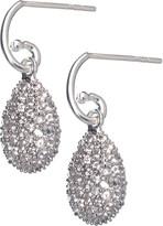 Links of London Hope Egg white topaz earrings