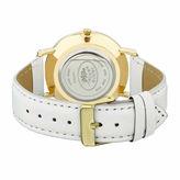 Laura Ashley Na Womens White Strap Watch-La31020wt
